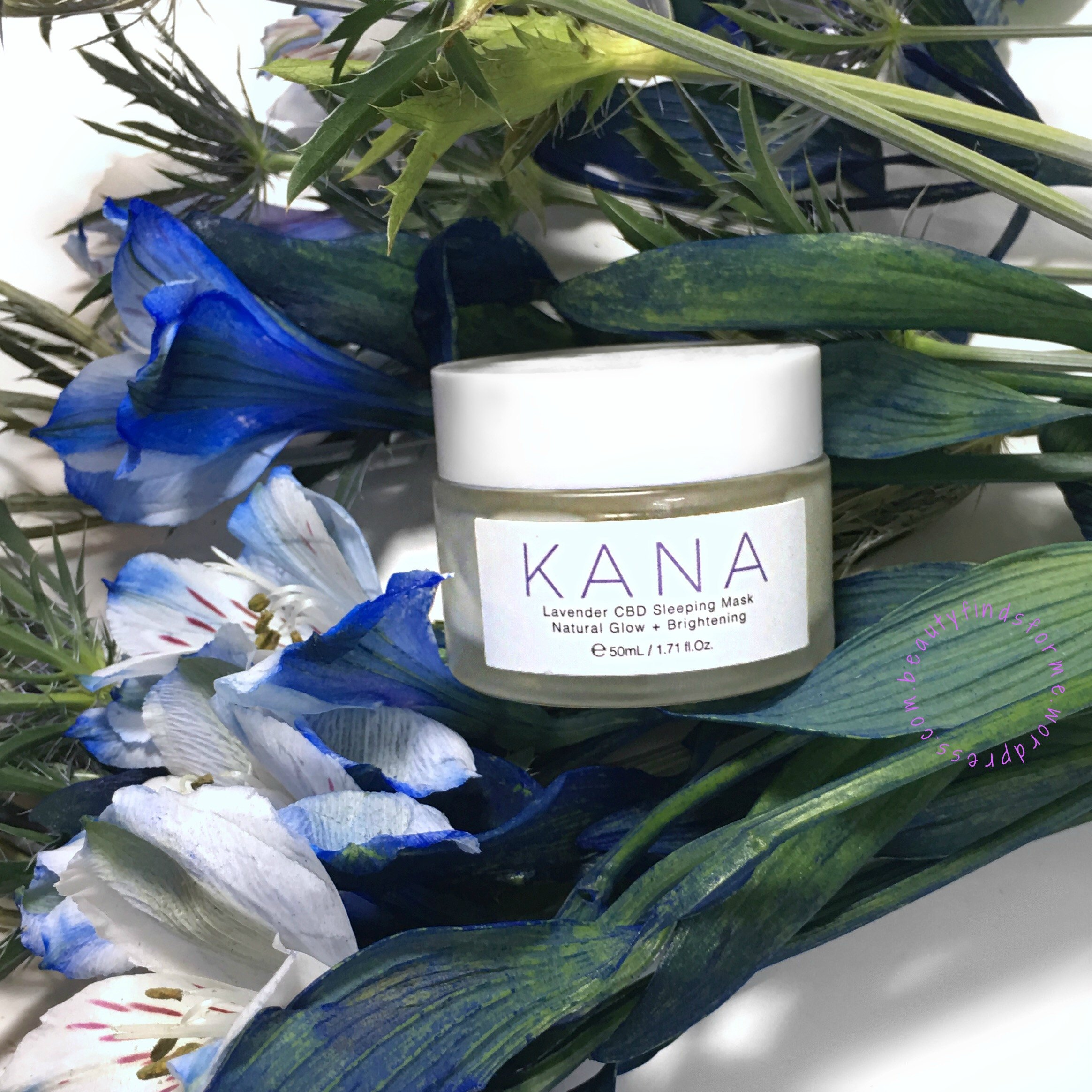Kana Lavender CBD Sleeping Mask Review – Unboxing Beauty